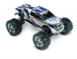 Silver/White E-Maxx:  1/10 Scale Electric 4WD Monster Truck with TQi Traxxas Link Enabled 2.4GHz Radio System