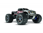 Silver E-Maxx Brushless:  1/10 Scale Brushless Electric Monster Truck with TQi Radio System and Traxxas Link Wireless Module