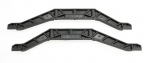 3921 Chassis braces, lower (black) (2)