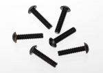 3929 Screws, 4x18mm button-head machine (hex drive) (6)