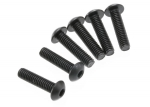 3933 Screws, 4x16mm button-head machine (hex drive) (6)