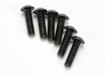 3938 Screws, 4x14mm button-head machine (hex drive) (6)