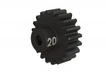 3950X Gear, 20-T pinion (32-p), heavy duty (machined, hardened steel)/ set screw