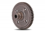 3956X Spur gear, steel, 54-tooth (0.8 metric pitch, compatible with 32-pitch) (requires #6780 center differential)
