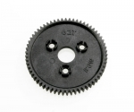 3959 Spur gear, 62-tooth (0.8 metric pitch, compatible with 32-pitch)