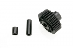 3984X Output gear, 33-tooth (1)/ spacers (2)