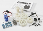 3998 Two Speed Conversion Kit (E-Maxx®) (includes wide and close ratio first gear sets, sub-micro servo, and linkage)