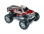 Silver/Red Nitro Stampede: 1/10-Scale Nitro-Powered 2WD Monster Truck with TQ 2.4 GHz radio system