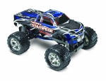 Blue Nitro Stampede:  1/10-Scale Nitro-Powered 2WD Monster Truck with TQi Traxxas Link Enabled 2.4GHz Radio System & Traxxas Stability Management (TSM)