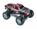 Red Nitro Stampede:  1/10-Scale Nitro-Powered 2WD Monster Truck with TQi Traxxas Link Enabled 2.4GHz Radio System & Traxxas Stability Management (TSM)