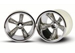 4172 TRX® Pro-Star chrome wheels (2) (rear) (for 2.2