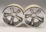 4174 TRX® Pro-Star chrome wheels (2) (front) (for 2.2