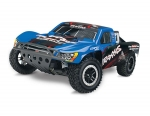 Traxxas Blue Nitro Slash: 1/10-Scale Nitro-Powered 2WD Short Course Racing Truck with TQ 2.4GHz radio system