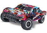 Hawaiian Nitro Slash: 1/10-Scale Nitro-Powered 2WD Short Course Racing Truck with TQi Traxxas Link™ Enabled 2.4GHz Radio System and Traxxas Stability Management (TSM)®