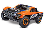 Orange Nitro Slash: 1/10-Scale Nitro-Powered 2WD Short Course Racing Truck with TQi Traxxas Link Enabled 2.4GHz Radio System and Traxxas Stability Management (TSM)
