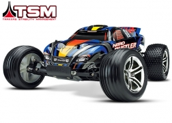 44096-3 Nitro Rustler®:  1/10-Scale Nitro-Powered 2WD Stadium Truck with TQi Traxxas Link™ Enabled 2.4GHz Radio System & Traxxas Stability Management (TSM)®