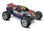 Blue Nitro Rustler®:  1/10-Scale Nitro-Powered 2WD Stadium Truck with TQi Traxxas Link™ Enabled 2.4GHz Radio System & Traxxas Stability Management (TSM)®