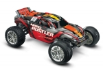 Red Nitro Rustler:  1/10-Scale Nitro-Powered 2WD Stadium Truck with TQi Traxxas Link Enabled 2.4GHz Radio System & Traxxas Stability Management (TSM)