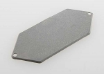 4433A Mounting plate, receiver (grey)