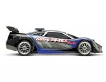 Blue Nitro 4-Tec:  1-10 Scale Nitro-Powered 4WD Supercar with TQi 2.4GHz Radio System and Traxxas Link Wireless Module