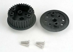 4881 Differential  (34-groove)/ flanged side-cover & screws