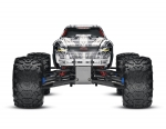 White T-Maxx 3.3:  1/10 Scale Nitro-Powered 4WD Maxx Monster Truck with TQi 2.4GHz Radio System and Traxxas Link Wireless Module