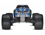 Blue T-Maxx® 3.3:  1/10 Scale Nitro-Powered 4WD Maxx® Monster Truck with TQi 2.4GHz Radio System, Traxxas Link™ Wireless Module, and Traxxas Stability Management (TSM)®