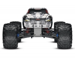 White T-Maxx® 3.3:  1/10 Scale Nitro-Powered 4WD Maxx® Monster Truck with TQi 2.4GHz Radio System, Traxxas Link™ Wireless Module, and Traxxas Stability Management (TSM)®
