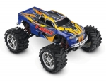 Blue T-Maxx Classic: 1/10-Scale Nitro-Powered 4WD Maxx Monster Truck with TQ 2.4GHz radio system
