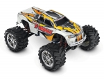 White T-Maxx Classic: 1/10-Scale Nitro-Powered 4WD Maxx Monster Truck with TQ 2.4GHz radio system