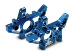 4929X Bulkheads, rear (machined 6061-T6 aluminum) (blue)(l&r) (requires use of 4939X suspension pins)