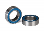 5105 Ball bearings, blue rubber sealed (6x10x3mm) (2)