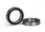 5107A Ball bearing, black rubber sealed (17x26x5mm) (2)
