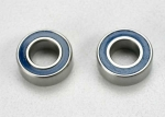5115 Ball bearings, blue rubber sealed (5x10x4mm) (2)