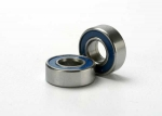5116 Ball bearings, blue rubber sealed (5x11x4mm) (2)