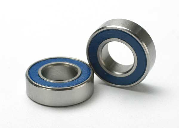 5118 Ball bearings, blue rubber sealed (8x16x5mm) (2)