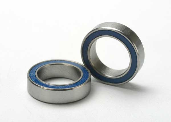 5119 Ball bearings, blue rubber sealed (10x15x4mm) (2)