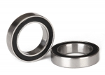 5120A Ball bearings, black rubber sealed (12x18x4mm) (2)