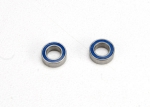 5124 Ball bearings, blue rubber sealed (4x7x2.5mm) (2)