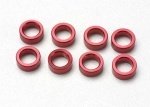 5133 Spacer, pushrod (aluminum, red) (use with 5318 or 5318X pushrod and 5358 progressive 2 rockers) (8)