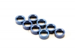 5133A Spacer, pushrod (aluminum, blue) (use with 5318 or 5318X pushrod and 5358 progressive 2 rockers) (8)