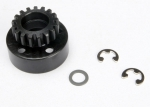 5217 Clutch bell (17-tooth)/5x8x0.5mm fiber washer (2)/ 5mm e-clip (requires 5x11x4mm ball bearings part #4611) (1.0 metric pitch)