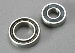 5223 Ball bearings, 7x17x5mm (1)/  12x21x5mm (1) (TRX® 3.3, 2.5R, 2.5 engine bearings)