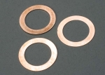 5229 Gaskets, cooling head: 0.15, 0.25, 0.35mm (1 each) (TRX® 2.5, 2.5R)