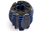 5238R Cooling head, PowerTune (machined aluminum, blue-anodized) (TRX® 3.3), head protector (1),  3x6mm CCS (5)