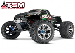 53097-3 Revo® 3.3:  1/10 Scale 4WD Nitro-Powered Monster Truck (with Telemetry Sensors) with TQi 2.4GHz Radio System, Traxxas Link™ Wireless Module, and Traxxas Stability Management (TSM)®