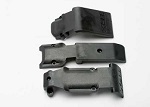 5337 Skid plate set, front (2 pieces, plastic)/ skid plate, rear (1 piece, plastic)