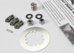 5352X Rebuild kit, slipper clutch (steel disc/ friction pads (3)/ spring (2)/ 2x9.8mm pin/ 5x8mm MW/ 5.0mm NL (1)/ 4.0mm NL (1))