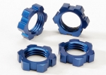 5353 Wheel nuts, splined, 17mm (blue-anodized) (4)