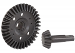 5379R Ring gear, differential/ pinion gear, differential (machined, spiral cut) (front)